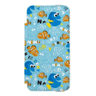 Finding Nemo   Dory and Nemo Pattern Incipio Watson™ iPhone 5 Wallet Case