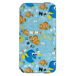 Finding Nemo   Dory and Nemo Pattern Incipio Watson™ iPhone 6 Wallet Case