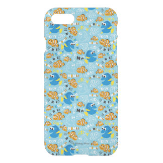 Finding Nemo   Dory and Nemo Pattern iPhone 7 Case