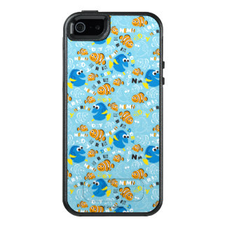 Finding Nemo   Dory and Nemo Pattern OtterBox iPhone 5/5s/SE Case