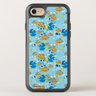 Finding Nemo   Dory and Nemo Pattern OtterBox Symmetry iPhone 7 Case