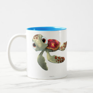 Finding Nemo   Squirt Floating Two-Tone Coffee Mug