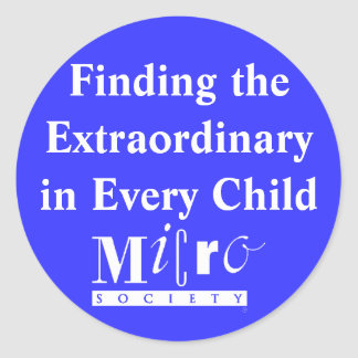 Finding the Extraordinary in Every Child Sticker