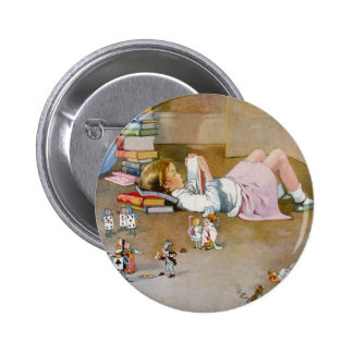 FINDING WONDERLAND 6 CM ROUND BADGE
