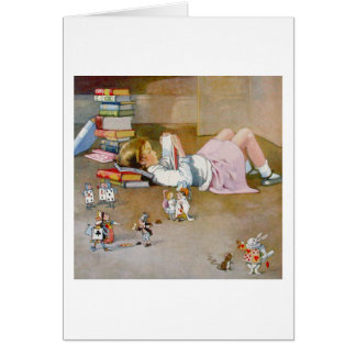 FINDING WONDERLAND GREETING CARD
