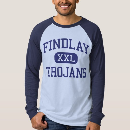 Findlay - Trojans - High School - Findlay Ohio T-Shirt