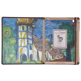 Fine art architecture inspired by Hundertwasser Covers For iPad