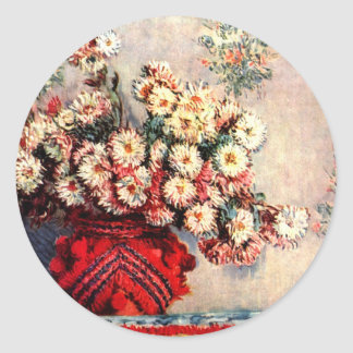 Fine art artist Claude Monet Stickers