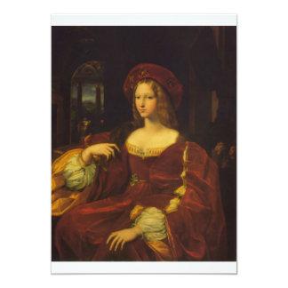 Fine Art by Raphael 13 Cm X 18 Cm Invitation Card