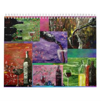 Fine Art Calender Wall Calendar