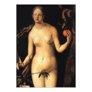 Fine art Eve 13 Cm X 18 Cm Invitation Card