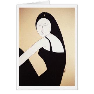 "Fine Art - ""Irresistibly Naieve"" Card"