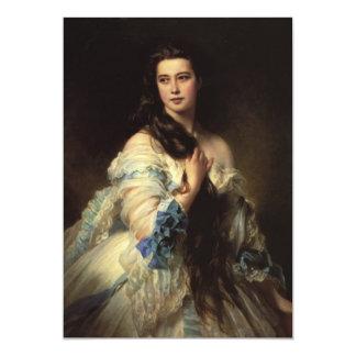 fine art madame barbe de rimsky 13 cm x 18 cm invitation card