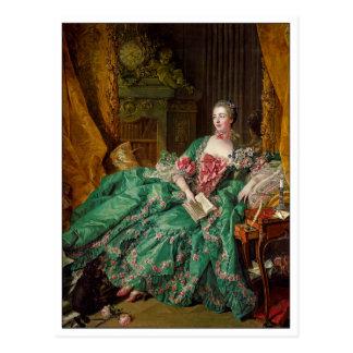 Fine Art Madame de Pompadour by Francois Boucher Postcard
