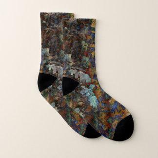 Fine Art of Leaves Socks 1