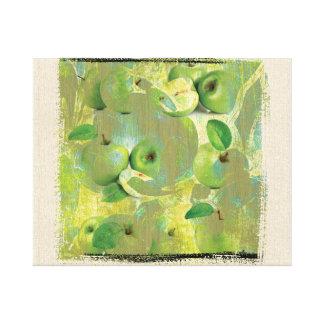 Fine Art of The Sense of Green Life! Canvas Print
