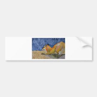 Fine Art Original Designs in Watercolor Bumper Sticker