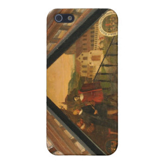 Fine art panel showing history of Lucerne iPhone 5 Covers