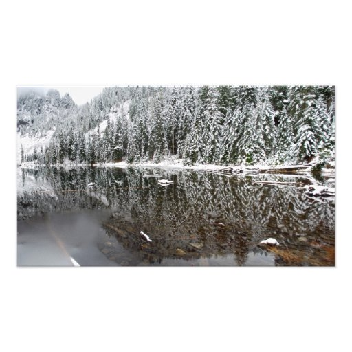 Fine Art Panorama Print Lake 22 in Winter Art Photo