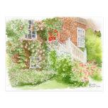 Fine Art Postcard- English Front Garden