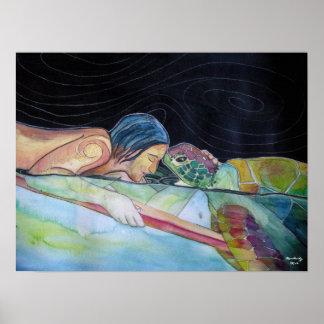 "Fine Art Print: ""Pono-Harmony"" Poster"