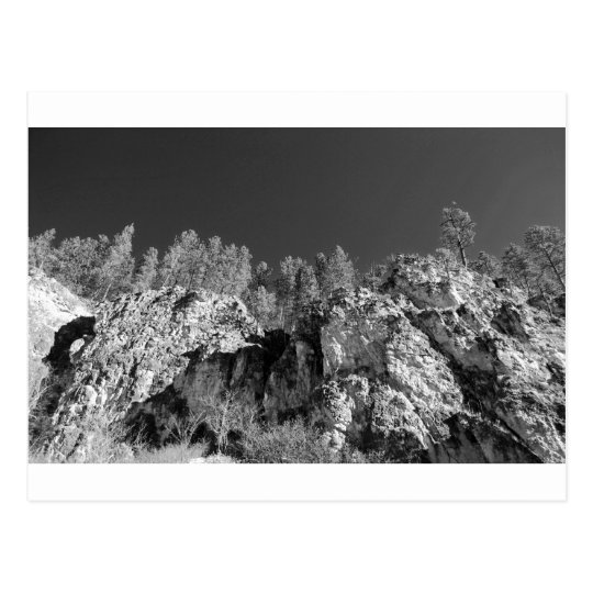 Fine Art Print Spearfish Canyon, Black Hills, SD Postcard