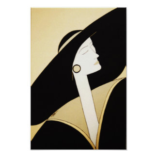 """Fine Art - """"Sophisticated Lady"""" Poster"""