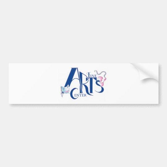 Fine Arts Centre Logo Bumper Sticker