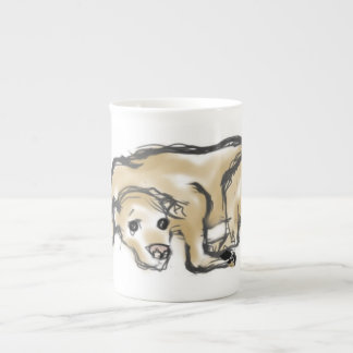 Fine bone bone china mug