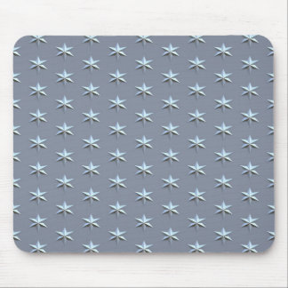 fine brushed stars mouse pad