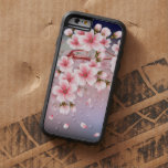 Fine Cherry blossom petals fall Tough Xtreme iPhone 6 Case