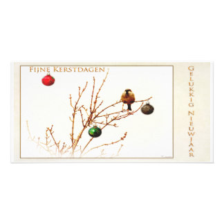 Fine Christmas days and happy Nieuwjaar_Foto card Photo Cards