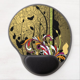 Fine Cute Cool Girly Retro Floral Fashion Gel Mouse Pad