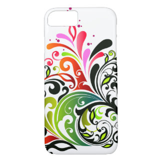 Fine Cute Cool Girly Retro Floral Fashion iPhone 7 Case