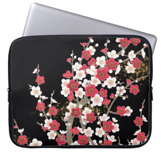 Fine Cute Cool Girly Retro Floral Fashion Laptop Sleeve