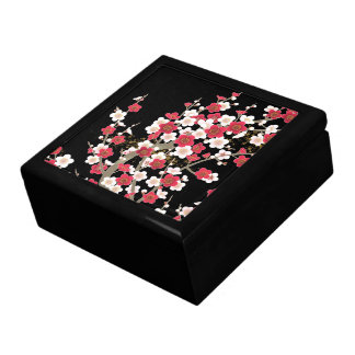 Fine Cute Cool Girly Retro Floral Fashion Large Square Gift Box