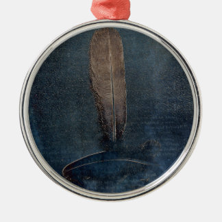 Fine Feathers Christmas Ornament