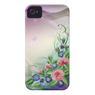 Fine flowers Case-Mate iPhone 4 case
