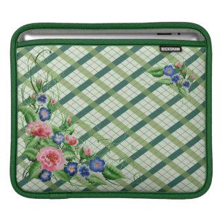 Fine flowers iPad sleeve
