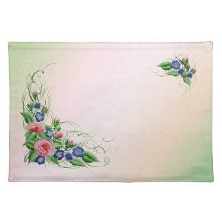 Fine flowers placemat