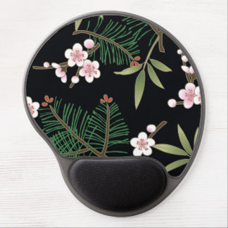 Fine Japanese Cute Cool Girly Retro Floral Gel Mouse Mat