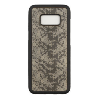 Fine Lace Floral Samsung Galaxy S8 / S8+ Wood Case
