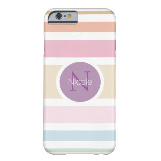 fine pastel colors barely there iPhone 6 case