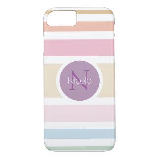 fine pastel colors iPhone 7 case