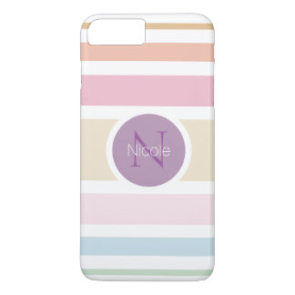 fine pastel colors iPhone 7 plus case