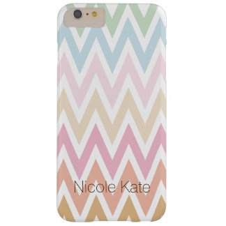 fine pastel colors zig zag barely there iPhone 6 plus case