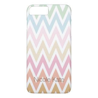 fine pastel colors zig zag iPhone 7 plus case
