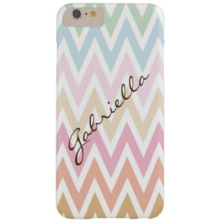fine pastel colors zigzag barely there iPhone 6 plus case