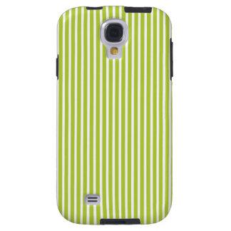 Fine Stripes Galaxy S4 Case in Green