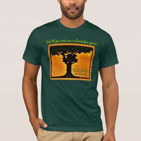 Fine Treehouse Building, Redwood Temple Treehouse T-Shirt